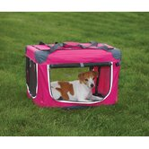 X-Small Pioneer Soft Dog Crate in Pink