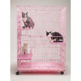 Foldable Cat Cage
