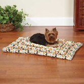 Dino Canvas Dog Mat