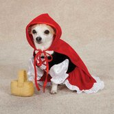 Lil' Riding Hood Dog Costume