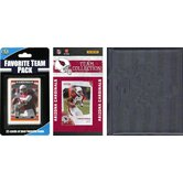 NFL Licensed 2010 Score Team Set and Favorite Player Trading Card Pack Plus Storage Album