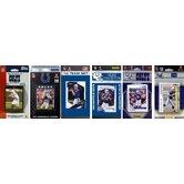 NFL Different Licensed Team Trading Cards (Set of 6)