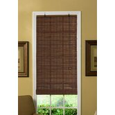 Venezia Flatstick Bamboo Roll-Up Blind in Cocoa