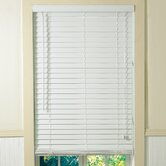 "2"" Plantation Faux Wood Blinds in White"