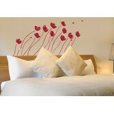 Spot Petals in the Wind Wall Decal