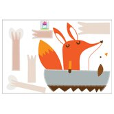 Piccolo Paolo Goes Boating Wall Sticker