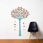 Spot Spring Tree Wall Sticker