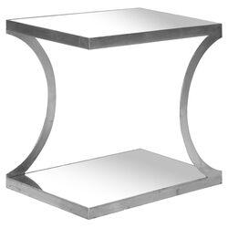 Sullivan Nightstand in Silver