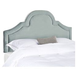 Kerstin Arched Upholstered Headboard in Wedgewood