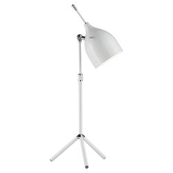 Snapshot Tripod Table Lamp in Glossy White