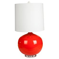 Daffodil Table Lamp in Red