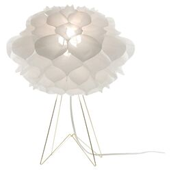 Phrena Tripod Table Lamp in White