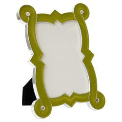 French Curve Picture Frame in Green