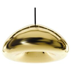 Void 1 Light Pendant in Brass