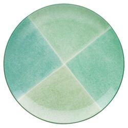 Colorwave Accent Service Plate in Green