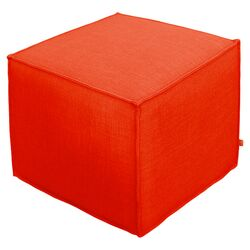 Jasper Cube Ottoman in Laurentian Sunset