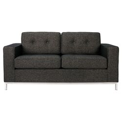Jane Loveseat in Urban Tweed Truffle