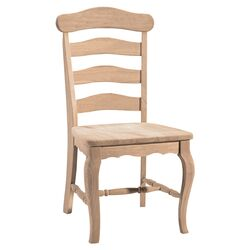 Unfinished Country Side Chair (Set of 2)