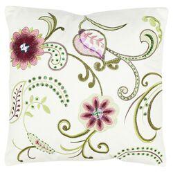 Esmeralda Decorative Pillow in Cream (Set of 2)