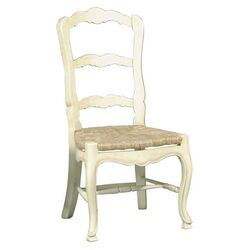 French Side Chair in Antique Oyster (Set of 2)