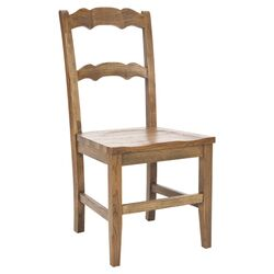 Maci Side Chair in Medium Oak (Set of 2)