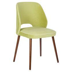 Lisa Side Chair in Light Green (Set of 2)