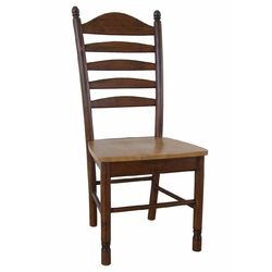 Madison Park Side Chair in Cinnamon & Espresso (Set of 2)