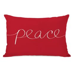 Holiday Peace Mix and Match Pillow