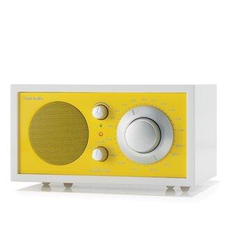 Tivoli Audio LLC Model One Radio - Color: Frost White / Sunflower Yellow