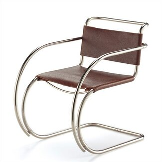 Vitra Miniatures - Leather MR  20 by Mies van der Rohe