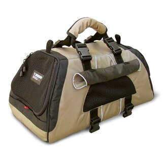 PetEgo Motor Trend Jet Set Pet Carrier in Beige