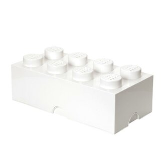 LEGO by Room Copenhagen Storage Brick 8 Toy Box - Color: White