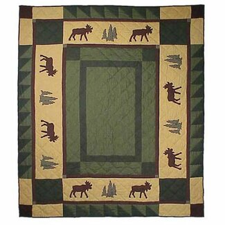 Patch Magic Cedar Trail Throw Quilt