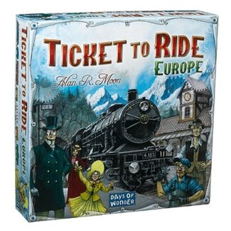 Days of Wonder Ticket to Ride – Europe Board Game