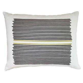 Balanced Design Louis Stripe Linen Throw Pillow