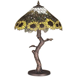 Meyda Tiffany Tiffany Wild Sunflower Table Lamp