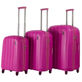 CalPack 3-Piece Hard-Sided Luggage Set