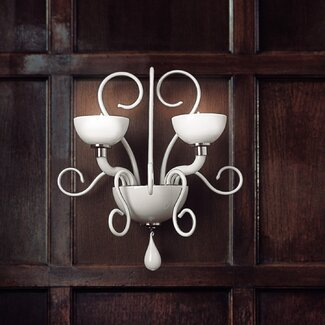 FDV Collection Bolero 2 Light Wall Light by Carlo Nason