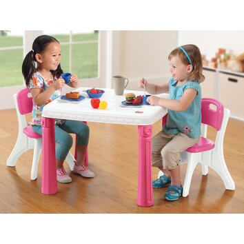 Step2 Lifestyle Kitchen Kids Table And Chair Set Amp Reviews