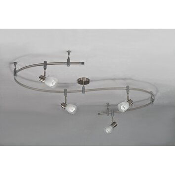 royal pacific 4 light flexible head track lighting kit reviews. Black Bedroom Furniture Sets. Home Design Ideas