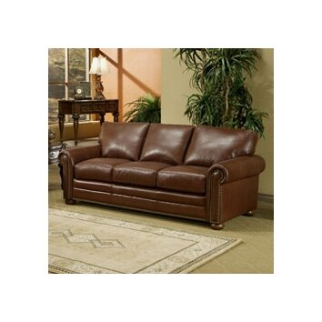 Savannahleather3seatsofajpg for Sectional sofas in savannah ga