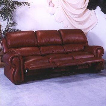 Cordova Leather Reclining Sofa Wayfair