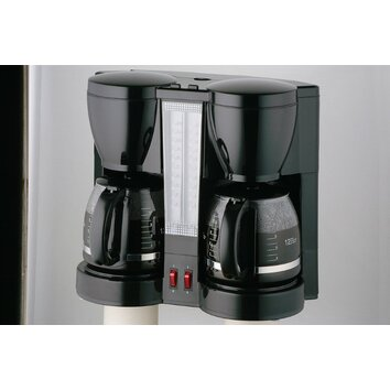 Coffee Makers Dual Pot : CucinaPro Specialty Electrics Double Carafe Coffee Maker & Reviews Wayfair