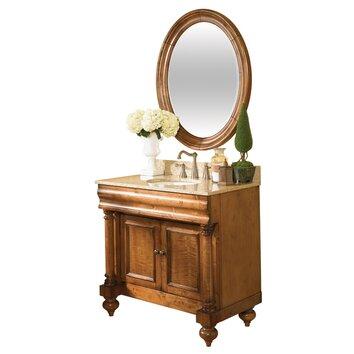 Kaco Guild Hall 36 Distressed Bathroom Vanity Base Reviews Wayfair