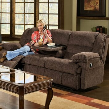 Simmons Upholstery Champion Double Motion Sofa amp Reviews