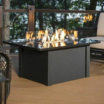 The outdoor greatroom company grandstone crystal fire pit for Great outdoor room company