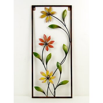 Firefly home collection flower wall for Home art design collection