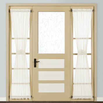 United Curtain Co Monte Carlo Sidelight Rod Pocket