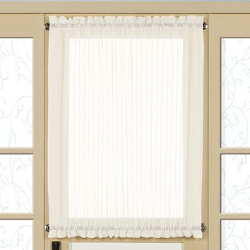 United Curtain Co Monte Carlo Door Rod Pocket Curtain