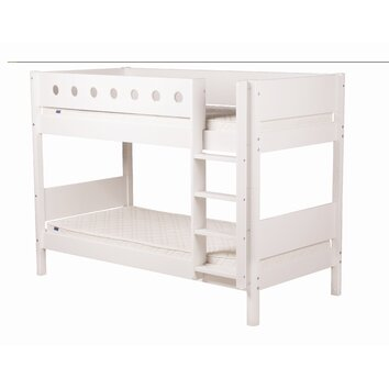 Flexa white bunk bed wayfair uk - Kids bed with drawers underneath ...